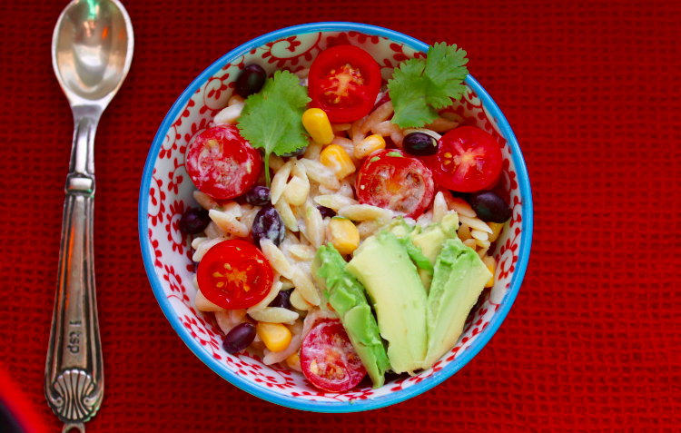 Chile Lime Orzo Salad