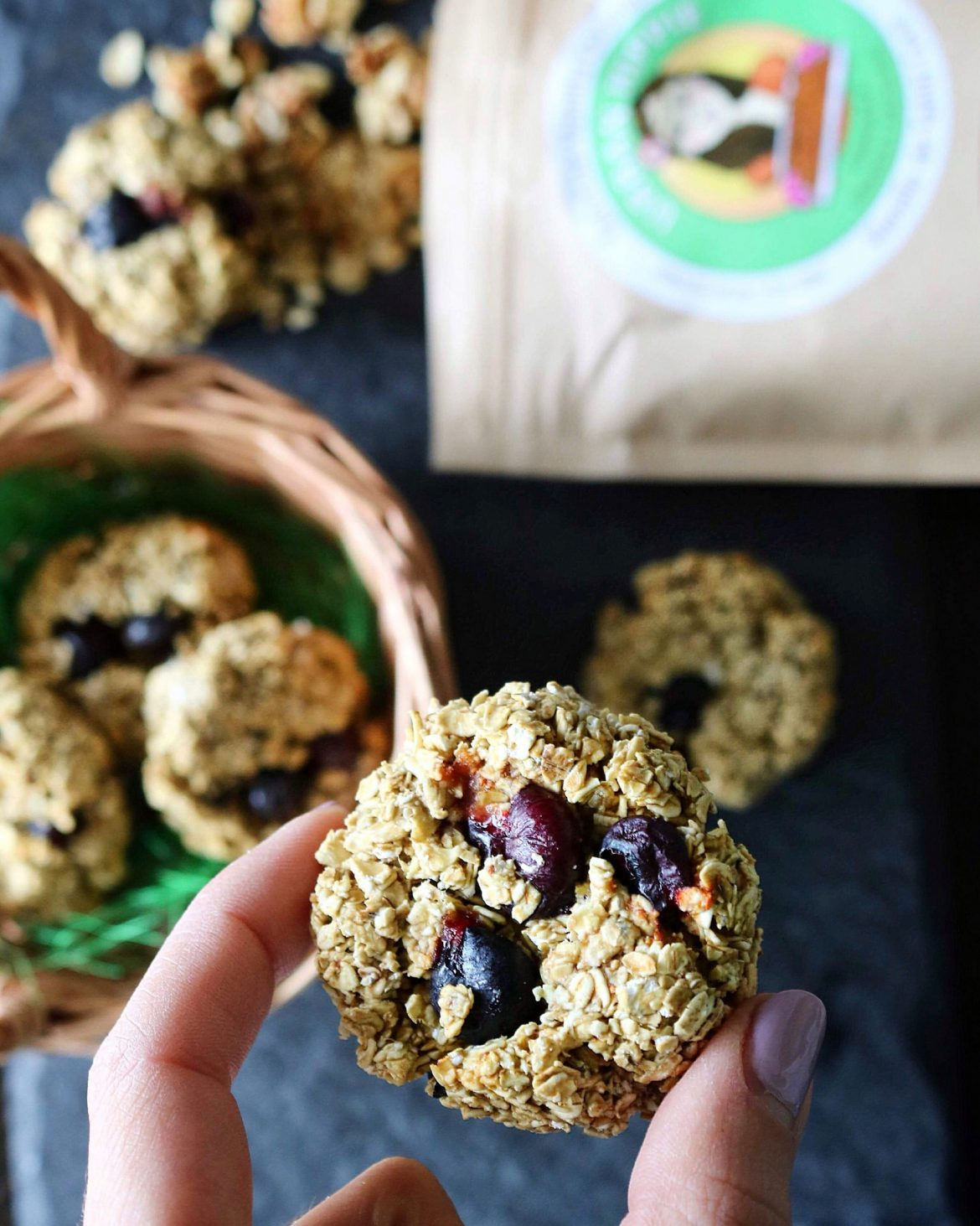 cranberry oat cookies healthy bites clean simple natural