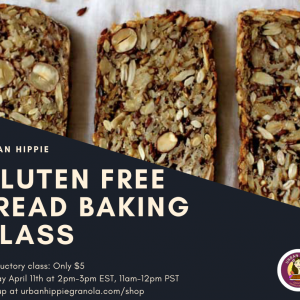 Gluten Free Nut and Seed Bread Baking Class